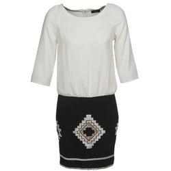 Odjeća Žene  Kratke haljine One Step RAMBOUTAN Bijela / Crna