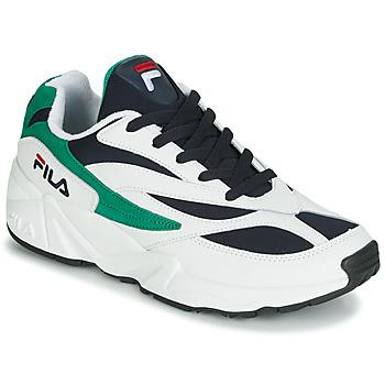 Obuća Muškarci  Niske tenisice Fila VENOM LOW Bijela / Zelena
