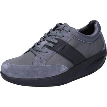 Obuća Žene  Niske tenisice Mbt sneakers grigio tessuto camoscio performance BT41 Grigio