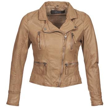 Odjeća Žene  Kožne i sintetičke jakne Oakwood CAMERA Boja konjaka
