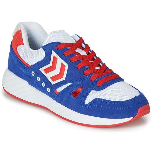 Obuća Niske tenisice Hummel LEGEND MARATHONA Blue / Red / Bijela