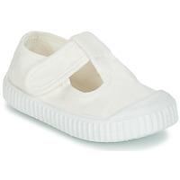 Obuća Djeca Balerinke i Mary Jane cipele Victoria SANDALIA LONA TINTADA Bijela