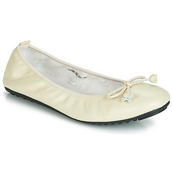 Obuća Žene  Balerinke i Mary Jane cipele Mac Douglas ELIANE Krémově bílá