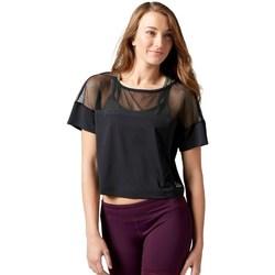 Odjeća Žene  Majice kratkih rukava Reebok Sport Cardio Fashion Top Crna
