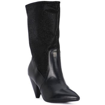 Obuća Žene  Gležnjače Juice Shoes TEVERE NERO STRASS NERI Nero