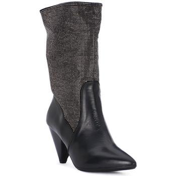 Obuća Žene  Čizme za grad Juice Shoes TEVERE NERO STRASS CANNA DI FUCILE Grigio