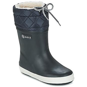 Obuća Djeca Čizme za snijeg Aigle GIBOULEE White