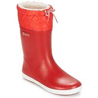 Obuća Djeca Čizme za snijeg Aigle GIBOULEE Red / Bijela