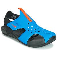 Obuća Djeca Sandale i polusandale Nike SUNRAY PROTECT 2 PS Crna / Blue