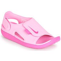 Obuća Djevojčica Sandale i polusandale Nike SUNRAY ADJUST 5 Ružičasta