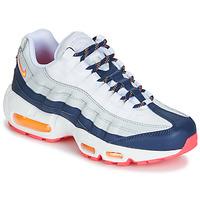Obuća Žene  Niske tenisice Nike AIR MAX 95 W Bijela / Blue / Narančasta